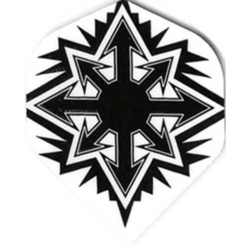 ABCDarts metronic dartflights - Sneeuwvlok