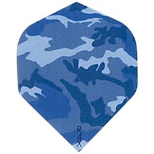 Ruthless Ruthless dartflight - camouflage blauw