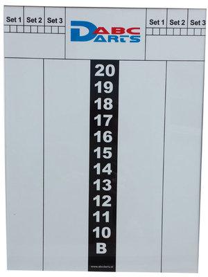 ABCDarts ABC Darts – Whiteboard Scorebord