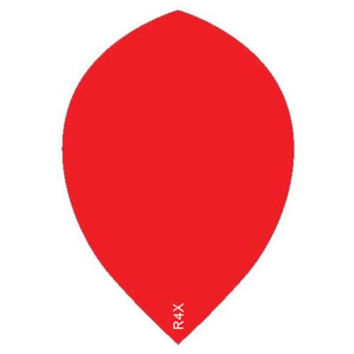Ruthless ruthless R4X dartflight 100 micron peer plain - rood