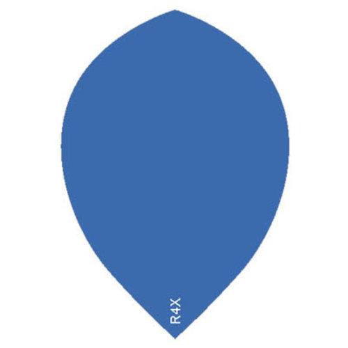 Ruthless ruthless R4X dartflight 100 micron peer plain - blauw