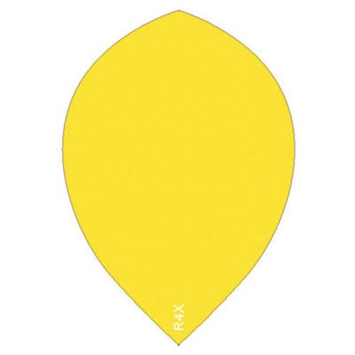 Ruthless ruthless R4X dartflight 100 micron peer plain - fluor geel