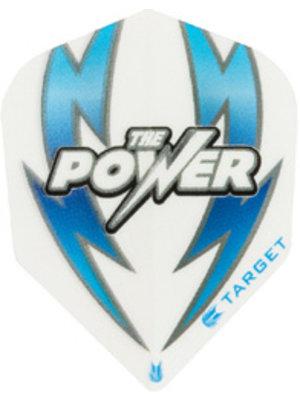 Target darts Target darts 330130 - dartflights vision arc bold witblauw