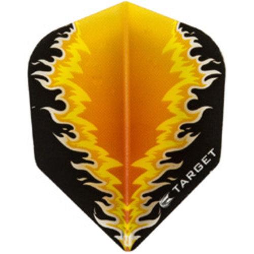 Target darts Target darts 300570 - dartflights vision B orange fire
