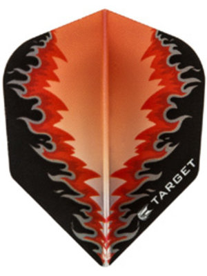 Target darts Target darts 300580 - dartflights vision B red fire