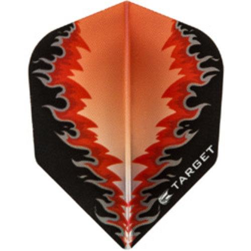 Target darts Target darts 300580 - dartflights vision B red fire