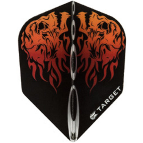 Target darts Target darts 300630 - dartflights vision skull north red