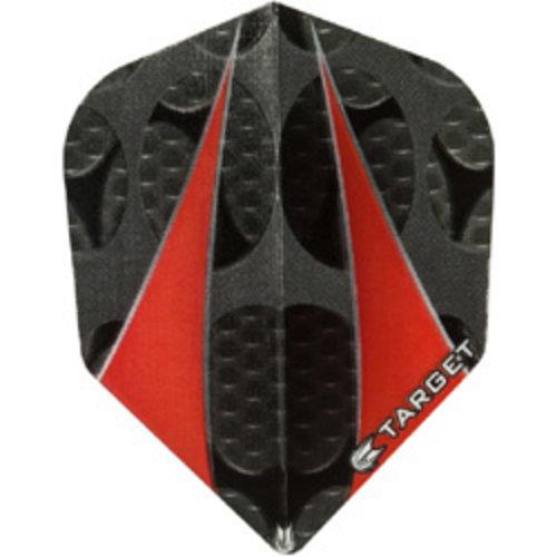 Target darts Target darts 300690 - dartflights vision twinsail red