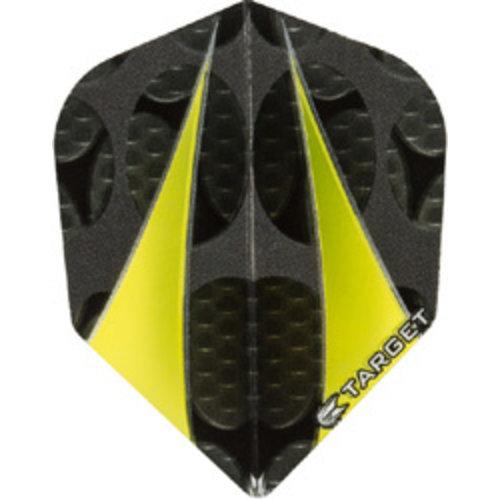 Target darts Target darts 300720 - dartflights vision twinsail yellow
