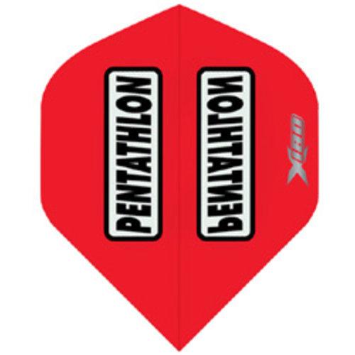 Pentathlon Pentathlon X180 dartflight - rood