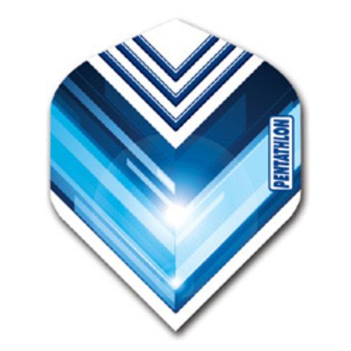 Pentathlon Pentathlon dartflight - vision V blauw