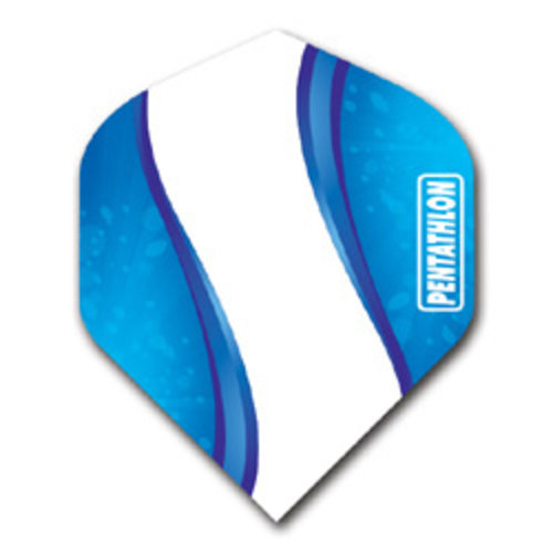 Pentathlon Pentathlon dartflight - elegance blauw