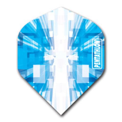 Pentathlon Pentathlon dartflight - vision space blauw