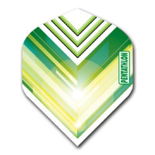 Pentathlon Pentathlon dartflight - vision V groen