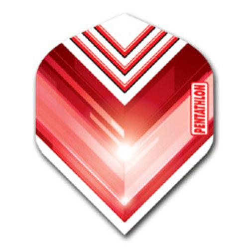 Pentathlon Pentathlon dartflight - vision V rood