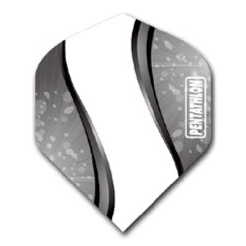 Pentathlon Pentathlon dartflight - vision elegance zwart
