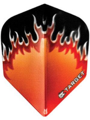 Target darts Target darts 300760 - dartflights vision Fire Red