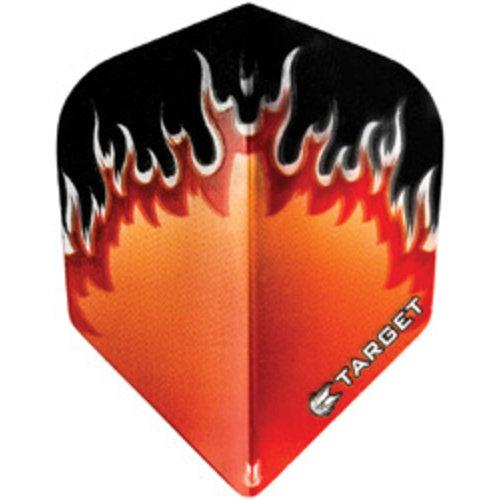 Target darts Target darts 300760 - dartflights vision flame rood