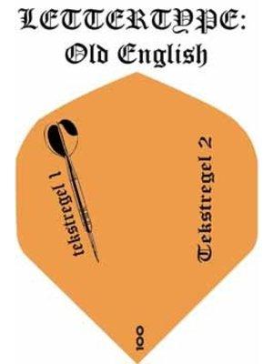 ABCDarts Dartflights bedrukken met tekst en dartpijl