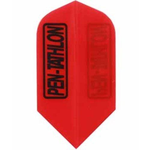 Pentathlon Pentathlon dartflight slim - solid rood
