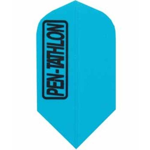 Pentathlon Pentathlon dartflight slim - solid blauw