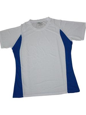 Hardloopshirt racer blauw - damesmodel