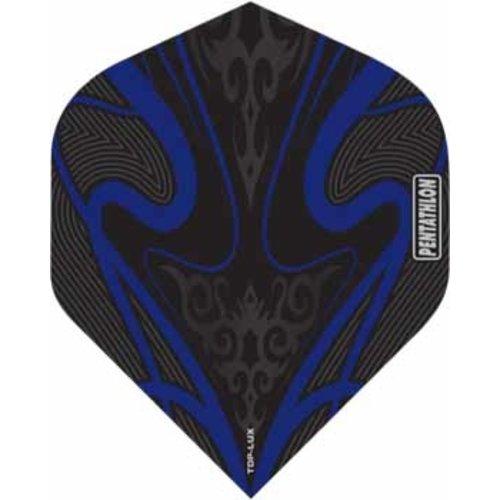 Pentathlon Pentathlon TDP LUX dartflight - swirl blauw