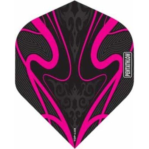 Pentathlon Pentathlon TDP LUX dartflight - swirl roze