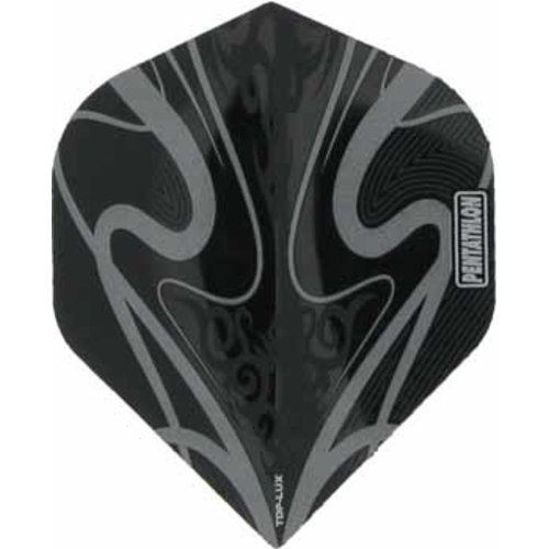 Pentathlon Pentathlon TDP LUX dartflight - swirl zilvergrijs