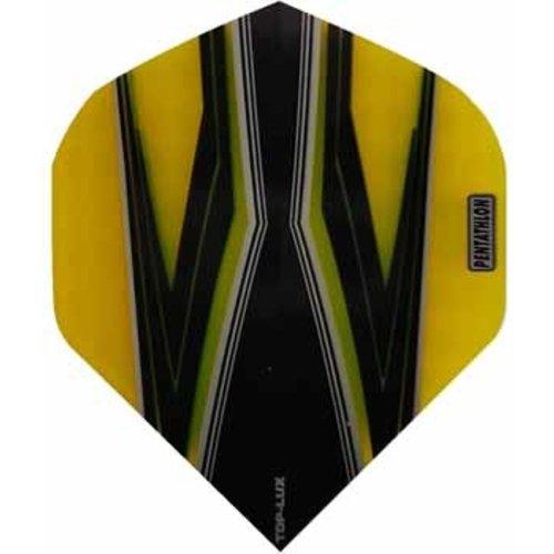 Pentathlon Pentathlon TDP LUX dartflight - spitfire zwart geel