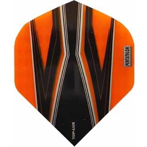 Pentathlon Pentathlon TDP LUX dartflight - spitfire zwart oranje