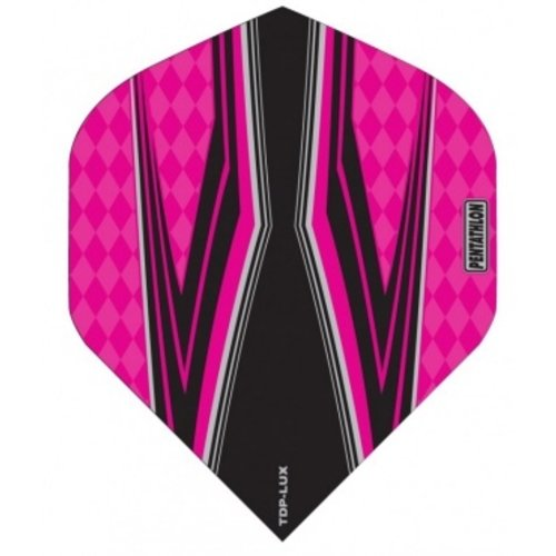 Pentathlon Pentathlon TDP LUX dartflight - spitfire zwart roze
