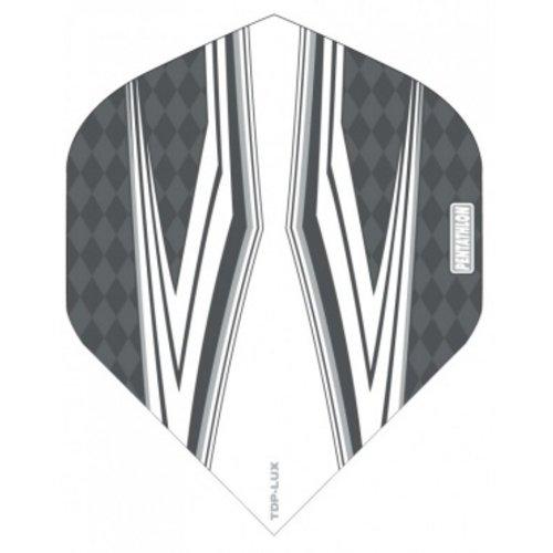 Pentathlon Pentathlon TDP LUX dartflight - spitfire wit zwart