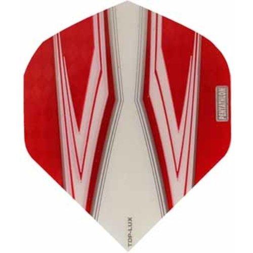 Pentathlon Pentathlon TDP LUX dartflight - spitfire wit rood