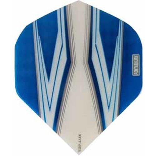 Pentathlon Pentathlon TDP LUX dartflight - spitfire wit blauw