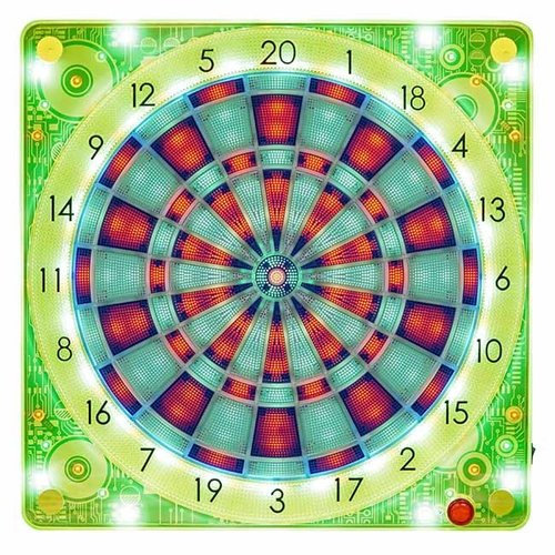Carromco Carromco 94002 smartness guz online dartboard LED square