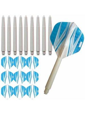 Pentathlon Pentathlon – Spitfire Wit – Blauw – Combi 3 sets