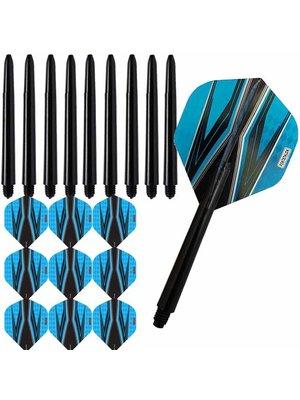 Pentathlon Pentathlon – Spitfire Zwart – Blauw – Combi 3 sets