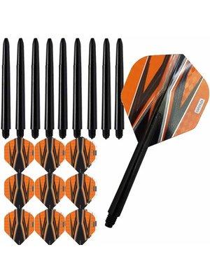 Pentathlon Pentathlon – Spitfire Zwart – Oranje – Combi 3 sets