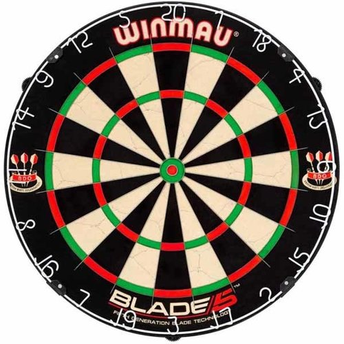 Winmau Winmau blade 5 dartkabinet - zwart