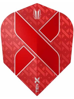 Target darts Target Darts 333510 - Dartflights ten-x rood