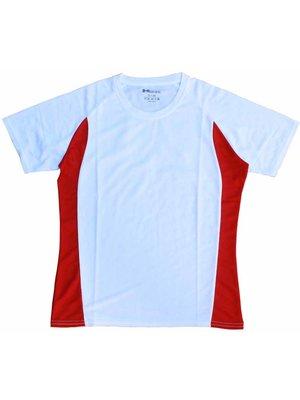 Hardloopshirt racer rood - damesmodel