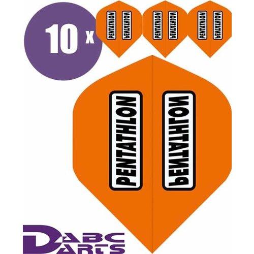 Pentathlon Dart flights pentathlon Classic Oranje - 10 sets