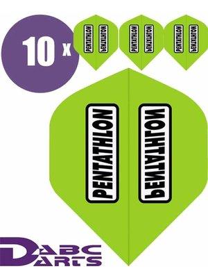 Pentathlon Pentathlon – Classic Limegroen - 10 sets