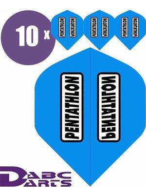 Pentathlon Pentathlon – Classic Cyan Blauw - 10 sets