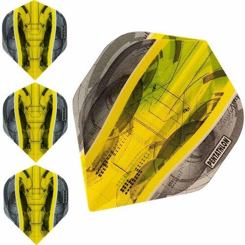 Pentathlon Dartflight Pentathlon Science Geel - 10 sets
