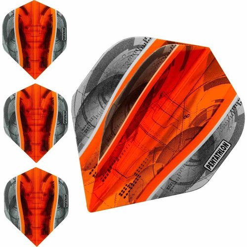 Pentathlon Dartflight Pentathlon Science oranje - 10 sets