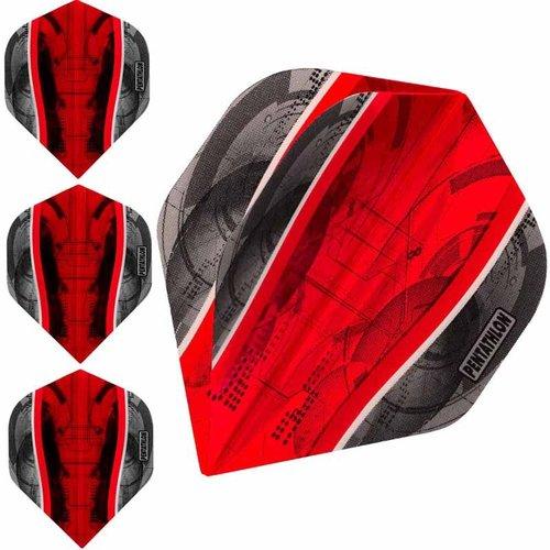 Pentathlon Dartflight Pentathlon Science Rood - 10 sets