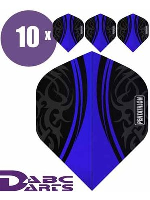 Pentathlon Pentathlon – Tribal Blauw - 10 Sets