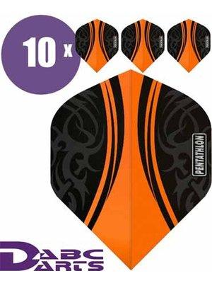 Pentathlon Pentathlon – Tribal Oranje - 10 Sets